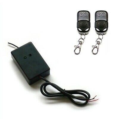 ALEKO Gate Garage Door External Receiver with 2 Remote Controls