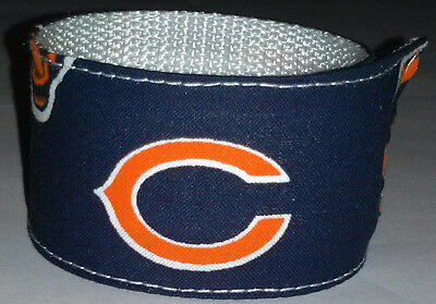 17d018a9 CHICAGO BEARS WRISTBAND Pro Football Fan Gear Team Apparel NFL Game Shop IL