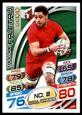 Topps Rugby Attax 2015 - Taulupe Faletau Wales No. 152