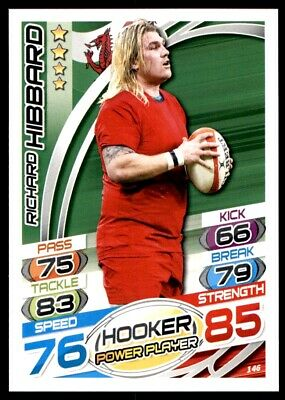 Topps Rugby Attax 2015 - Richard Hibbard Wales No. 146