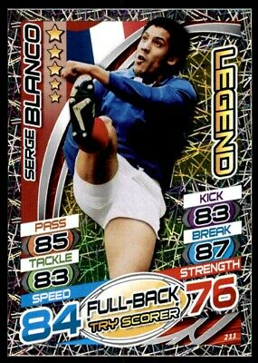 Topps Rugby Attax 2015 - Serge Blanco Legend No. 211