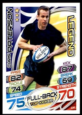 Topps Rugby Attax 2015 - Chris Paterson Legend No. 226