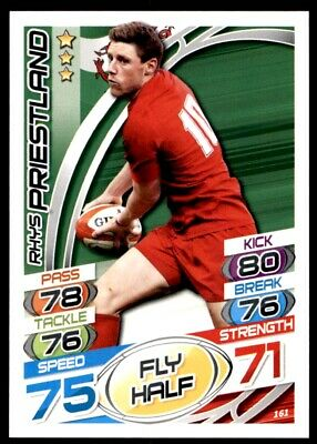 Topps Rugby Attax 2015 - Rhys Priestland Wales No. 161