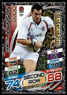 Topps Rugby Attax 2015 - Martin Johnson Legend No. 202