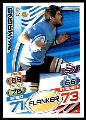 Topps Rugby Attax 2015 - Diego Magno Uruguay No. 192