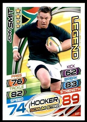 Topps Rugby Attax 2015 - John Smit Legend No. 227