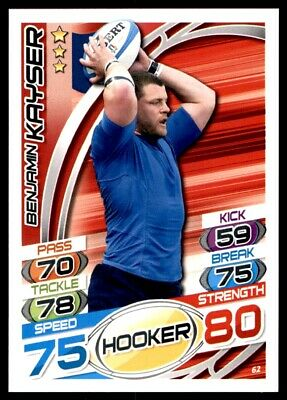 Topps Rugby Attax 2015 - Benjamin Kayser France No. 62