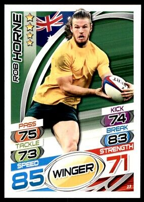 Topps Rugby Attax 2015 - Rob Horne Australia No. 23