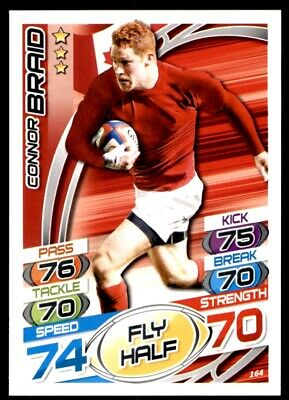 Topps Rugby Attax 2015 - Connor Braid Canada No. 164