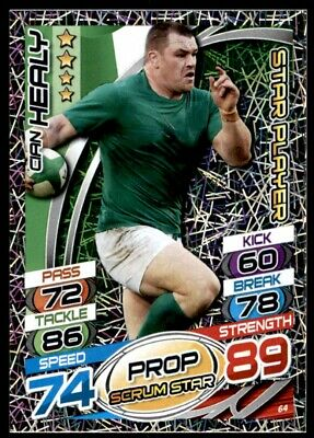 Topps Rugby Attax 2015 - Cian Healy Ireland Star Player No. 64