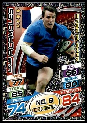 Topps Rugby Attax 2015 - Louis Picamoles France Star Player No. 53