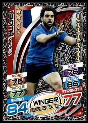 Topps Rugby Attax 2015 - Yoann Huget France Star Player No. 58