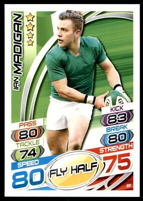 Topps Rugby Attax 2015 - Ian Madigan Ireland No. 80