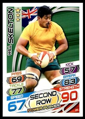 Topps Rugby Attax 2015 - Will Skelton Australia No. 25