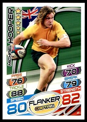 Topps Rugby Attax 2015 - Michael Hooper Australia No. 15