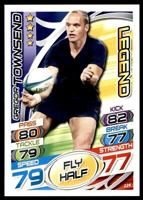 Topps Rugby Attax 2015 - Gregor Townsend Legend No. 224