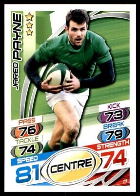 Topps Rugby Attax 2015 - Jared Payne Ireland No. 75