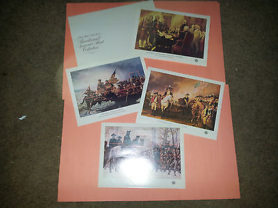 VINTAGE 1686-1689 Bicentennial Souvenir Sheets MINT set of 4 NH 4 sheets