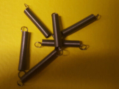 6 Lower Finger Springs Mills, Jennings, Replacment Springs Antique Slot Machine