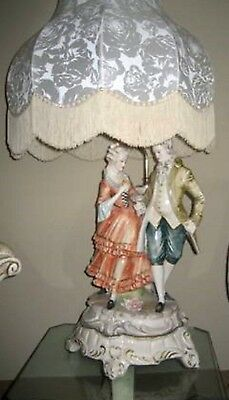 Capodimonte Italian Table Lamp Excellent Condition - Chicago Area Pickup