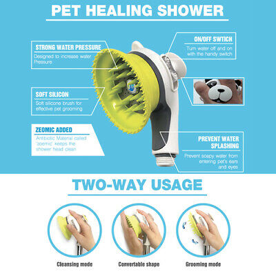 Spa Pet Healing Shower Head Washsystem For Dogs And Cats