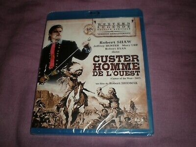 custer homme de l'ouest robert shaw blu ray neuf sous blister