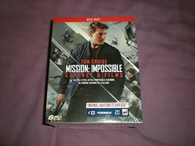 mission impossible  tom cruise coffret  6 films  neuf sous blister