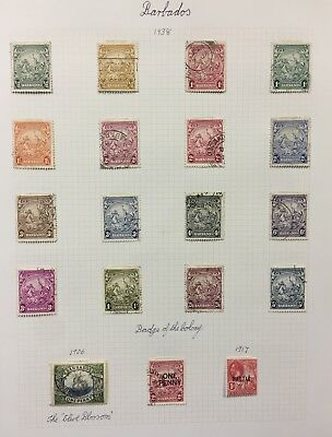 Rare British Colonies Stamps 63 Pages Lot 166