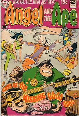 ANGEL AND THE APE #1 Silver Age DC Comics 1968 VG