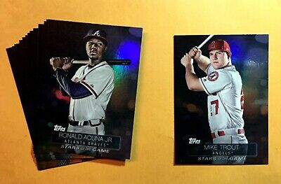 "2019 Topps Baseball Series 1 ""Stars of the Game""  insert Cards - YOU PICK"