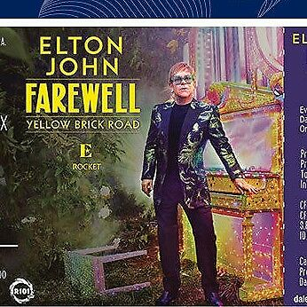 *** 2 BIGLIETTI tickets - ELTON JOHN Farewell Tour Lucca 07/07/2019 SOLD OUT ***