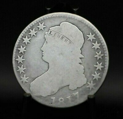 1817 Choice Good Capped Bust Half Dollar [049DUD]