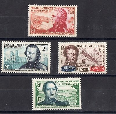 Nouvelle-Caledonie: Serie Complete De 4 Timbres Neuf** N°280/283 C: 40,00€
