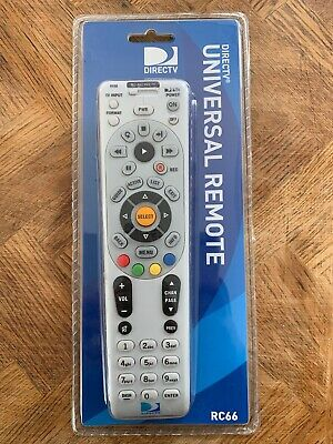 AT&T DirecTV Genie Universal Replacement Remote - RC66 - Factory Sealed - New