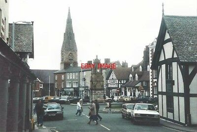 Photo  Denbighshire St Peters Square Ruthin In 1987 As Seen From Clwyd Street. T