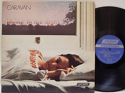 CARAVAN	 - For Girls Who Plump in the Night LP (1st US Pressing on LONDON)