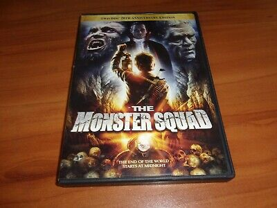 The Monster Squad (DVD, 2007, 2-Disc Widescreen 20th Anniversary Edition) Used