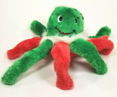 Kyjen Holiday Octopus toy dog puppy Squeaker rattle plush toys Christmas B5 gift