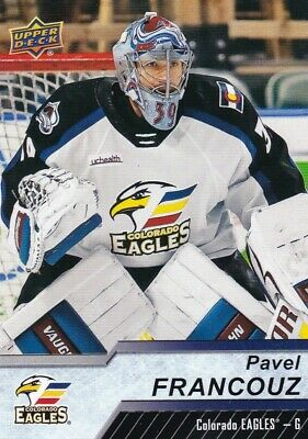Pavel Francouz 2018-19 18-19 Upper Deck Ahl Base #80 Colorado Eagles