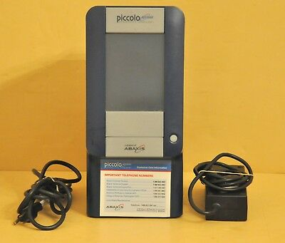 Abaxis Piccolo Xpress Chemistry Blood Analyzer 1100-1000 Lab Analysis 2.1.51