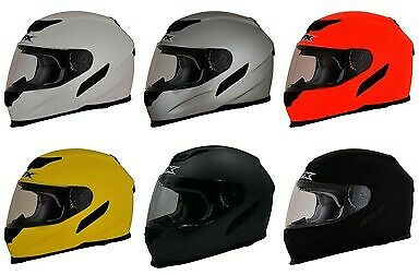 AFX Adult FX-105 Full Face Solid Motorcycle Helmet 2019 DOT ECE