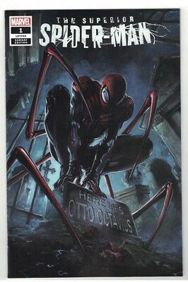 Superior Spider-Man #1 Clayton Crain Variant Cover - 1 Of 1500 W/c.o.a. - 2018