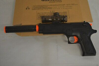 Jin Ming Electric Desert Eagle m92 Automatic Water Gel Ball Blaster Pistol Black