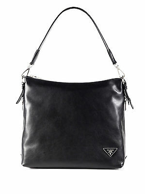 948791060418 100% AUTHENTIC NEW Prada Soft Calf Side Zip Hobo Handbag/purse/bag ...
