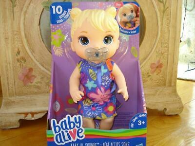 Baby Alive BABY LIL SOUNDS Interactive BLONDE