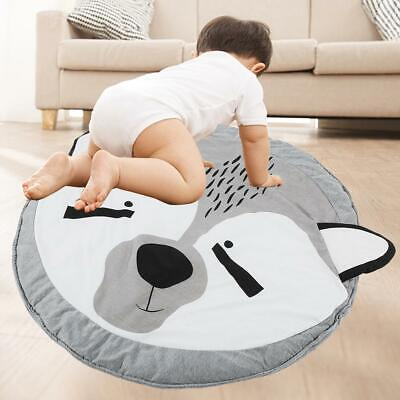 Rabbit/Fox Children Kids Baby Infant Crawling Pad Floor Cotton Blend Play Mat