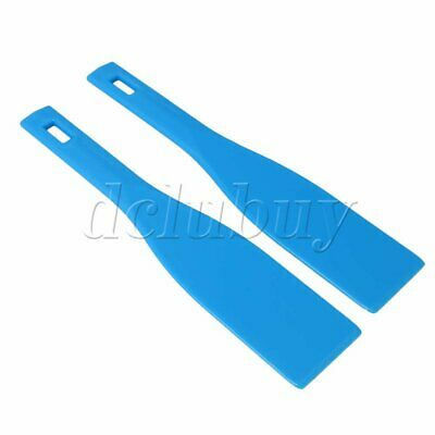 2pcs Blue 11.33x2.36 inches Spatula Ink Printing Spatulas Accessories