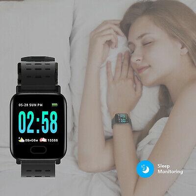 Smartwatch Impermeable Reloj inteligente Fitness Tracker M20 Android IOS iphone