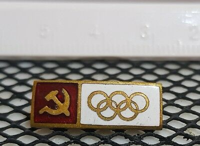 Olympiade NOC  Team USSR 1964 Tokyo Olympic Games UdSSR  Pin  Official