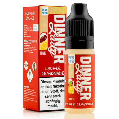 Lychee Ice Summer Holidays Serie 50/50 10ml Liquids by Dinner Lady